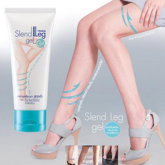 เจลบำรุงเรียวขา สูตรเย็นสดชื่น มิสทิน (มิสทีน) สเลนด์ เลก / Mistine Slend Leg Gel Cool