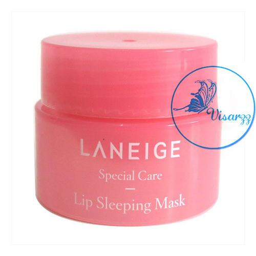 (Tester 3g) Laneige Lip Sleeping Mask มาส์กบำรุงริมฝีปากสูตรเข้มข้น ช่วยฟื้นคืนผิวให้อวบอิ่ม เด้ง นุ่มเนียนยิ่งขึ้น