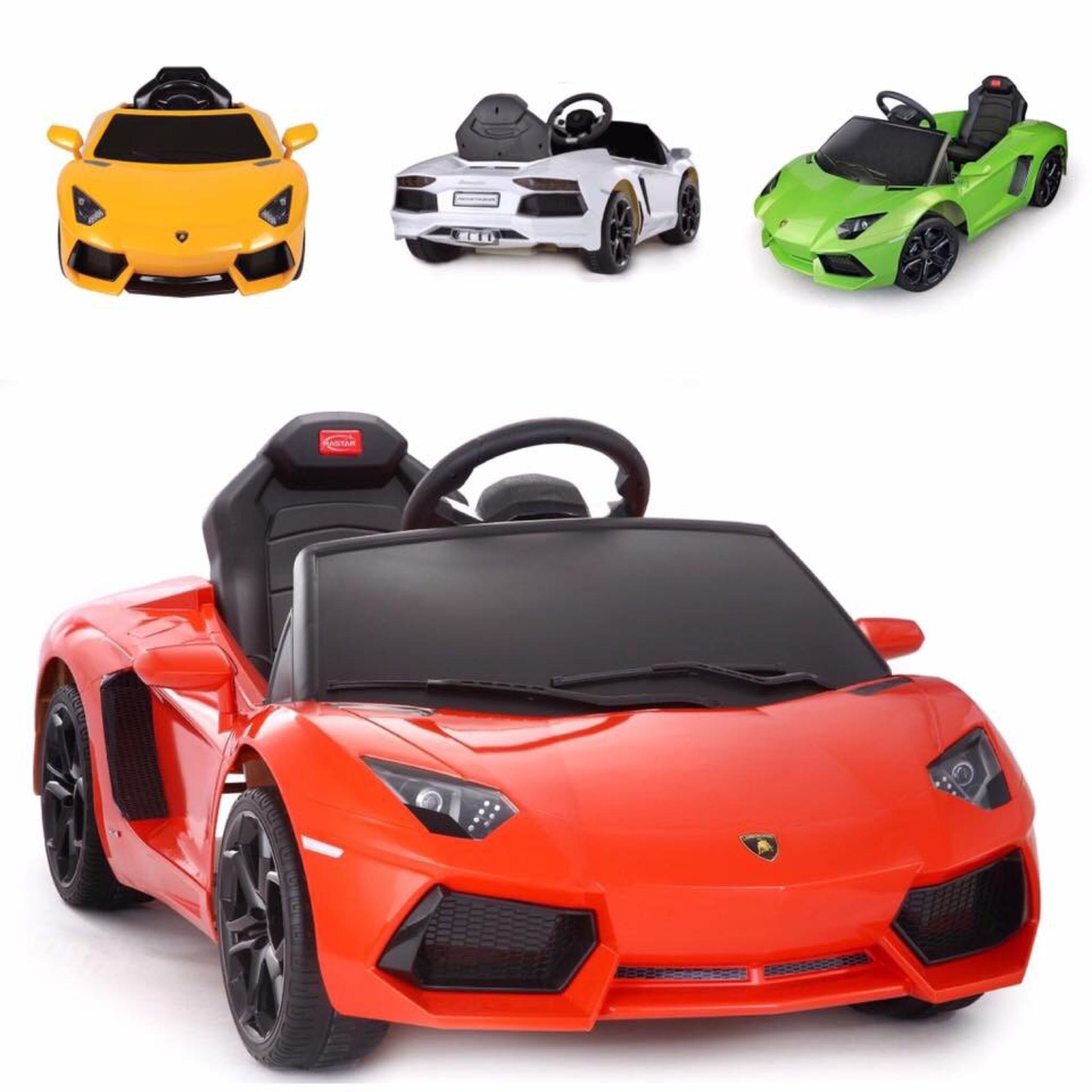 รถแบตเตอรี่พร้อมรีโมทบังคับ Lamborghini Aventador LP700 6V Battery-Powered Ride-On (Red)
