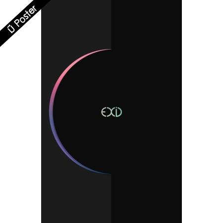 """[พร้อมส่ง 1 อัลบั้ม] EXID - 4th Mini Album """"ECLIPSE"""" + Poster"""