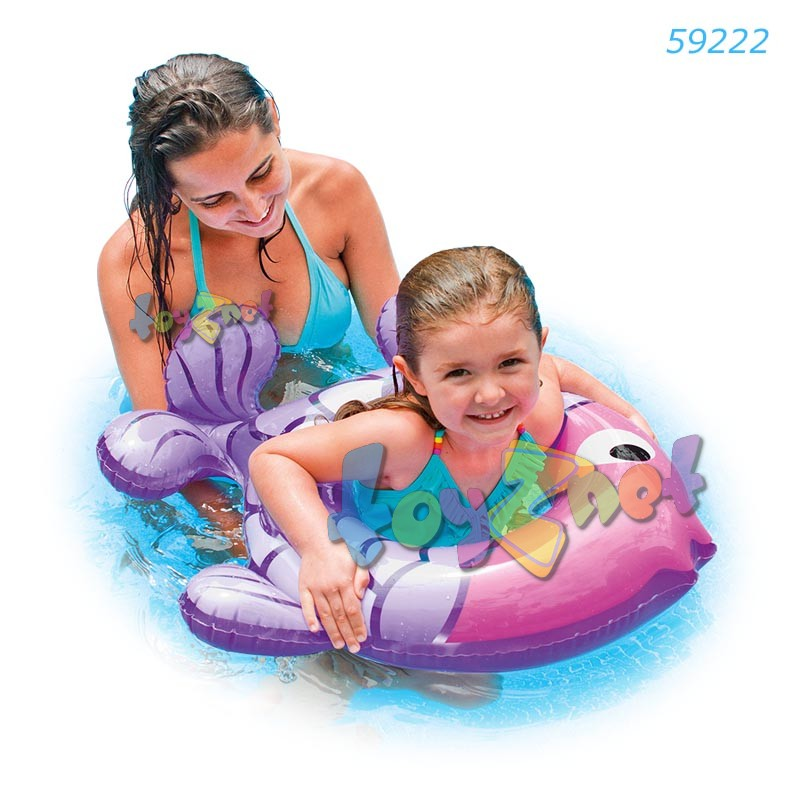 Intex ห่วงยางเด็ก ปลาน้อย สีม่วง รุ่น 59222