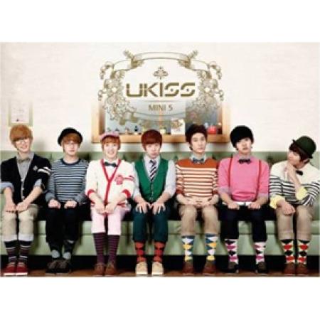 """[PRE-ORDER] U-KISS - 5th Mini Album """"BRAN NEW KISS"""""""