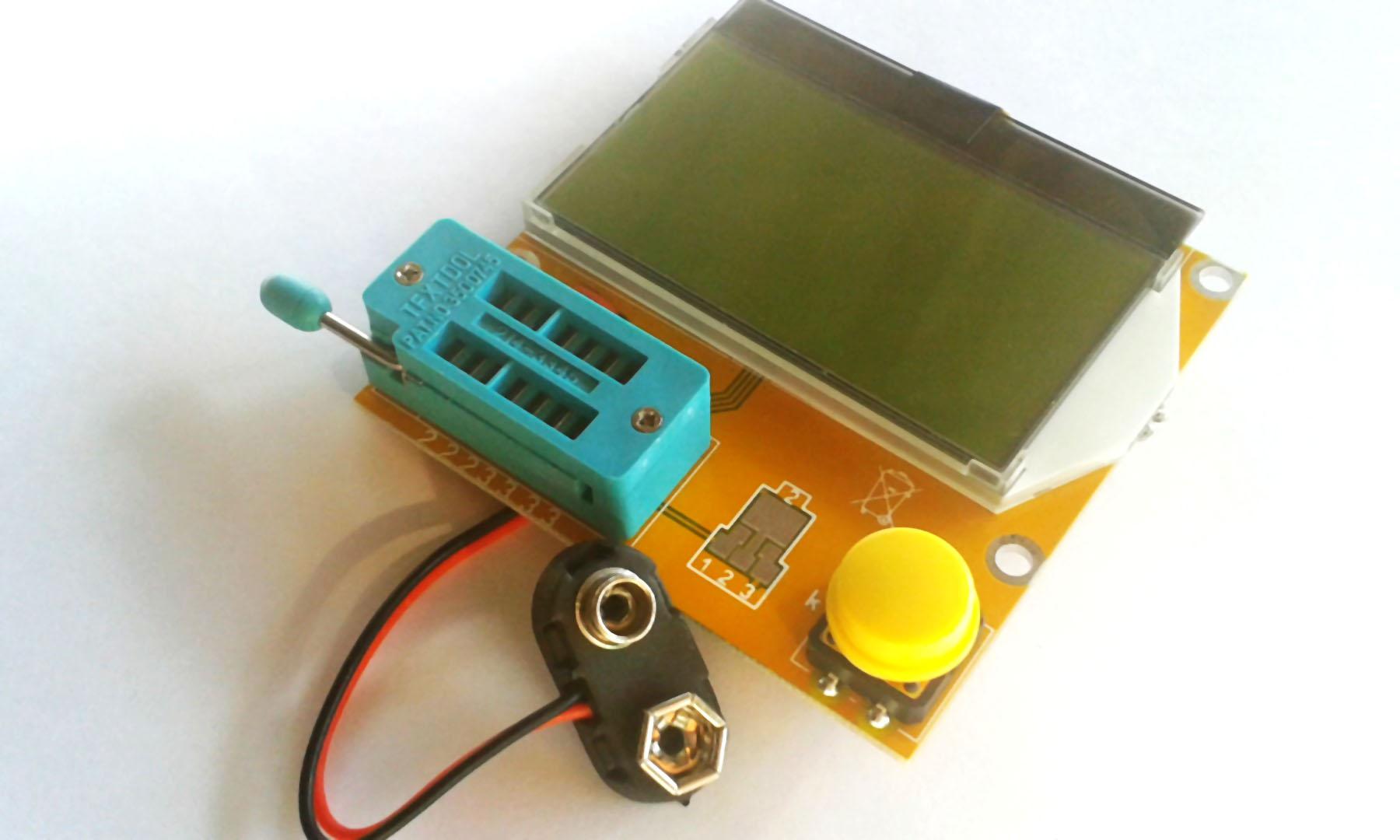 ESR Meter เครื่องวัดอุปกรณ์อิเล็กทรอนิกส์อเนกประสงค์