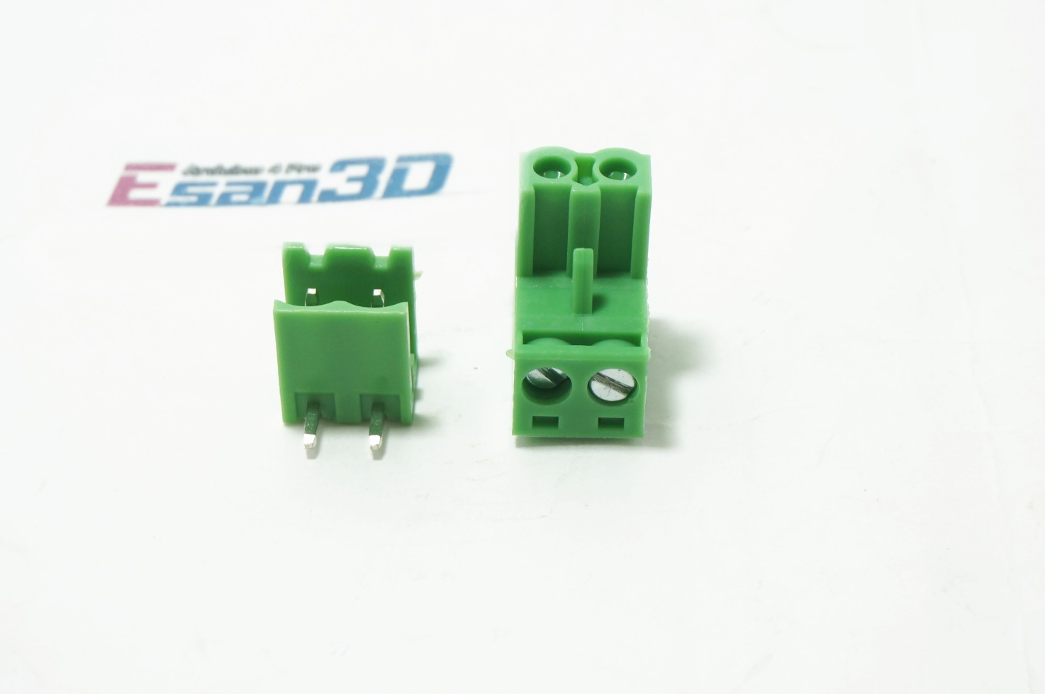 Plug-in Terminal Block 2 Pins (ชุดผู้และเมีย)