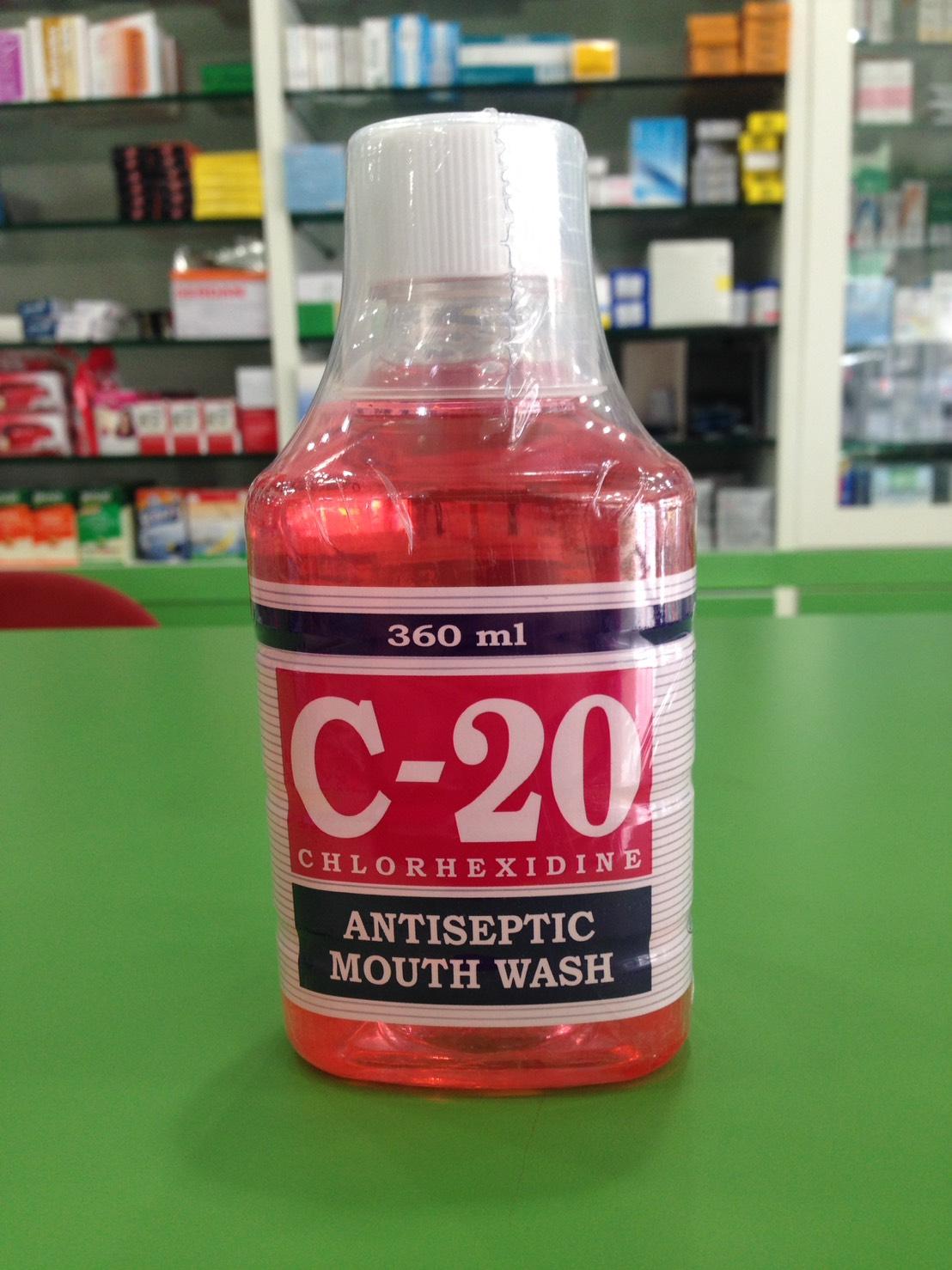 C-20 360ml น้ำยาบ้วนปาก