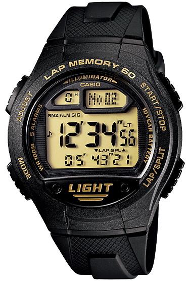 นาฬิกา คาสิโอ Casio 10 YEAR BATTERY รุ่น W-734-9A