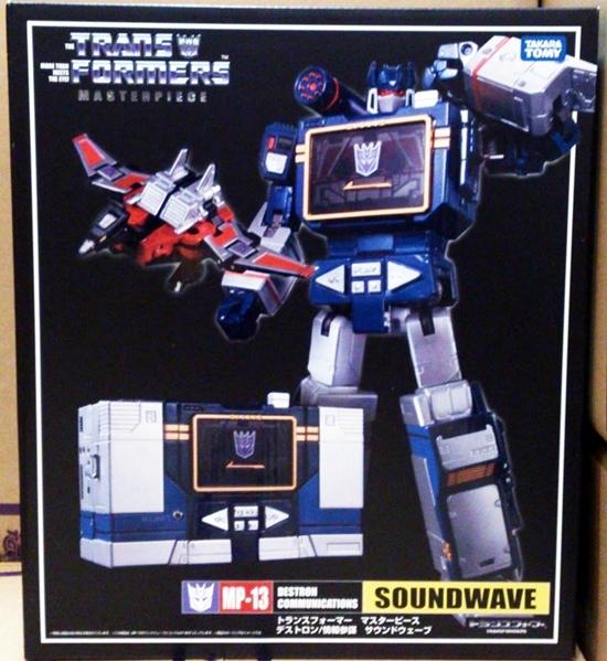 Transformers Masterpiece MP-13 Soundwave Action Figure Takara NEW