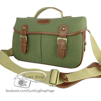 กระเป๋ากล้องวินเทจ Trendy Bag Army Green (M)