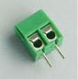 Screw terminal block 2 pin pitch 3.5 mm