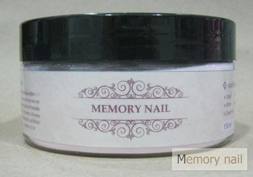 ผงอะคริลิค Memory nail สีใส 150ml