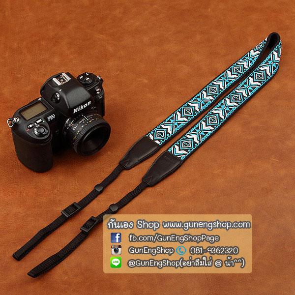 สายคล้องกล้อง cam-in Blue Ranger