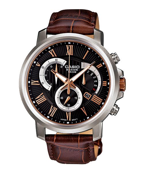 นาฬิกา คาสิโอ Casio BESIDE CHRONOGRAPH รุ่น BEM-506GL-1AV