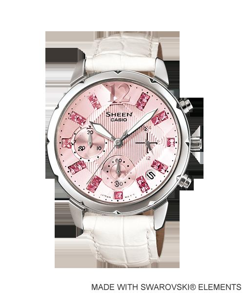 นาฬิกา คาสิโอ Casio SHEEN CHRONOGRAPH รุ่น SHN-5010L-4A2