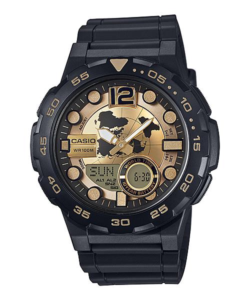 นาฬิกา Casio 10 YEAR BATTERY รุ่น AEQ-100BW-9AV ของแท้ รับประกัน 1 ปี