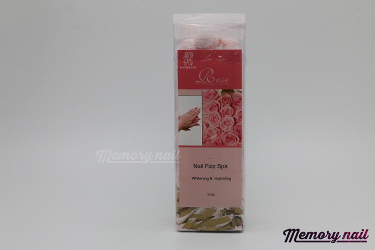 Nail Fizz Spa ( Rose ) เม็ดฟู่ กลิ่นกุหลาบ สำหรับแช่มือ