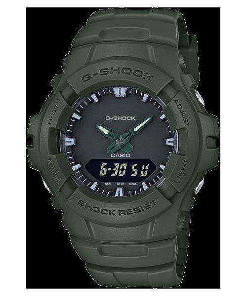 นาฬิกา Casio G-Shock Limited G-100CU Military Calm & Clean color series รุ่น G-100CU-3A ของแท้ รับประกัน1ปี
