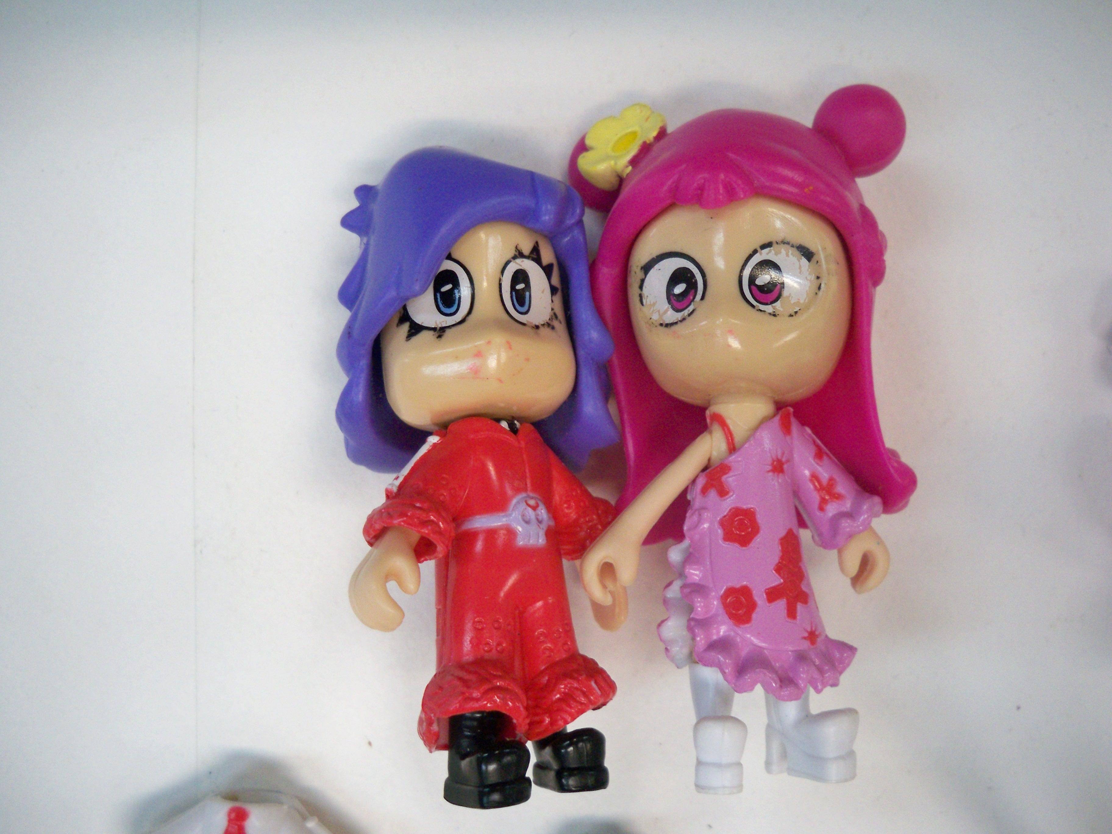 Hi Hi puffy Ami&Yumi ตุ๊กตาเปลี่ยนเสื้อ