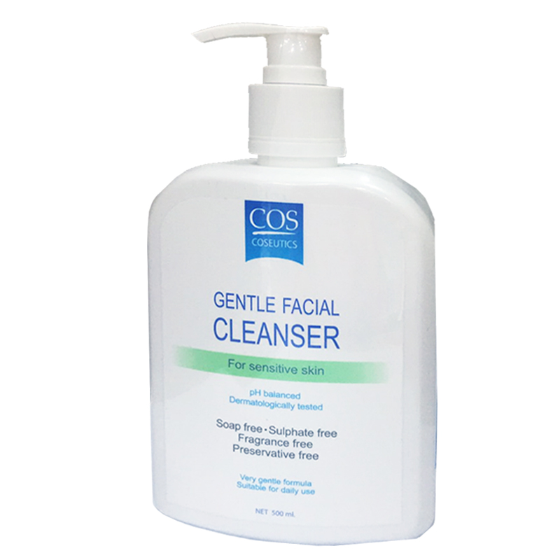 COS gentle facial cleanser - senstive 500ml สำเนา