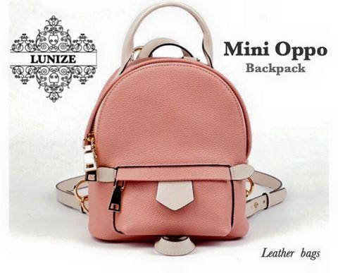 กระเป๋าหนังวัว Mini Oppo Cowhide