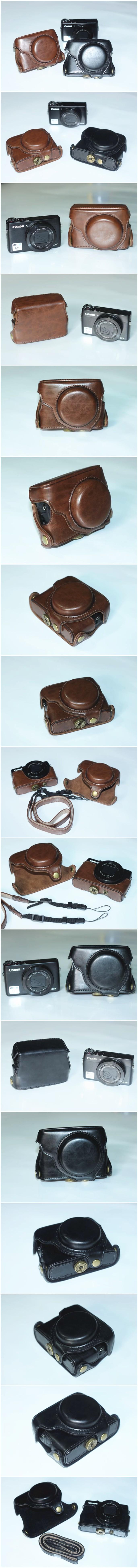 เคสกล้องหนัง Case Canon G7X Powershot GX7