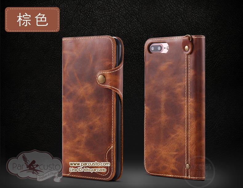 เคสหนังแท้ Apple iPhone 7 และ 7 Plus จาก CASEME [Pre-order]