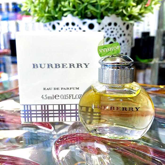 Burberry Fragrances Burberry Limited EDP 4.5 ml. แนวกลิ่น Fruity หวานเรียบ อบอุ่น เย้ายวน กับการผสมผสานกลิ่นที่เข้ากันได้อย่างลงตัว