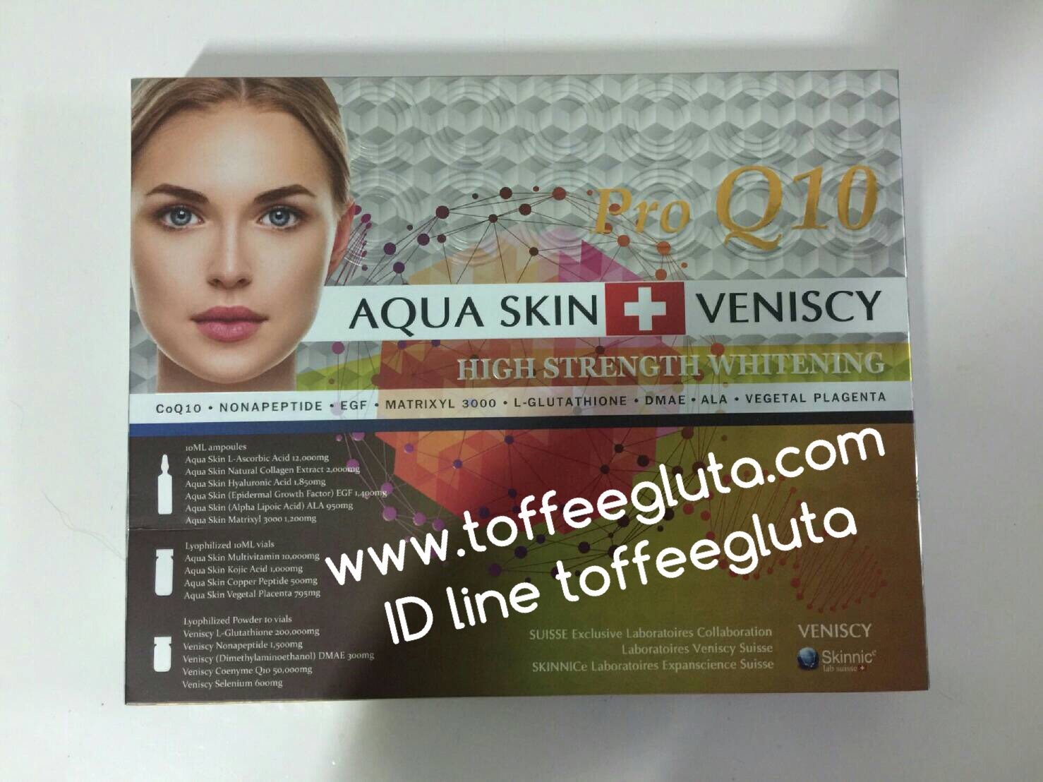 Aquaskin Veniscy Pro Q10