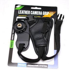 Leather Soft Wrist camera Hand strap แบบหุ้มข้อมือ