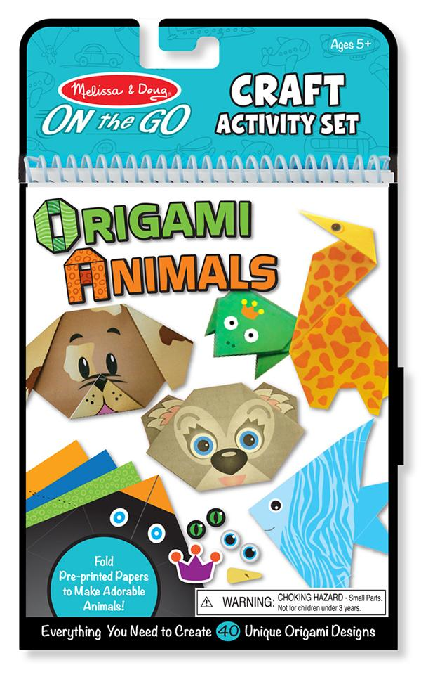 พับกระดาษแสนสนุก On-the-Go Origami Set