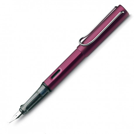 Lamy Al-Star Black Purple Fountain Pen