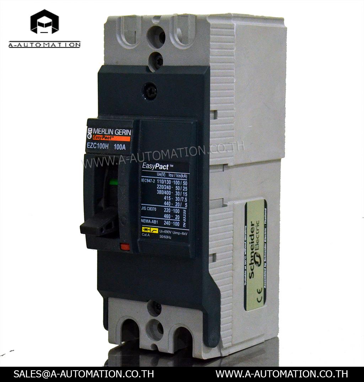 Breaker Merlin Gerin Model:EZC100H