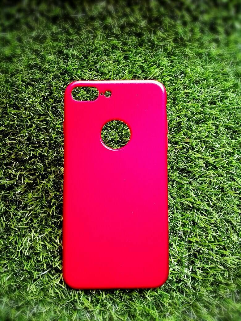 TPU Red iphone7 plus/iphone8 plus(ใช้เคสตัวเดียวกัน)