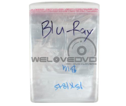 OPP Plastic Bags for Blu-ray Case แบบบาง (100 PCS)