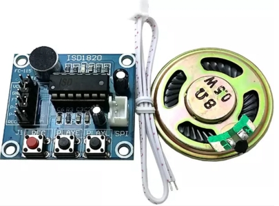ISD1820 Voice Board Module Sound Recording Module พร้อมลำโพง