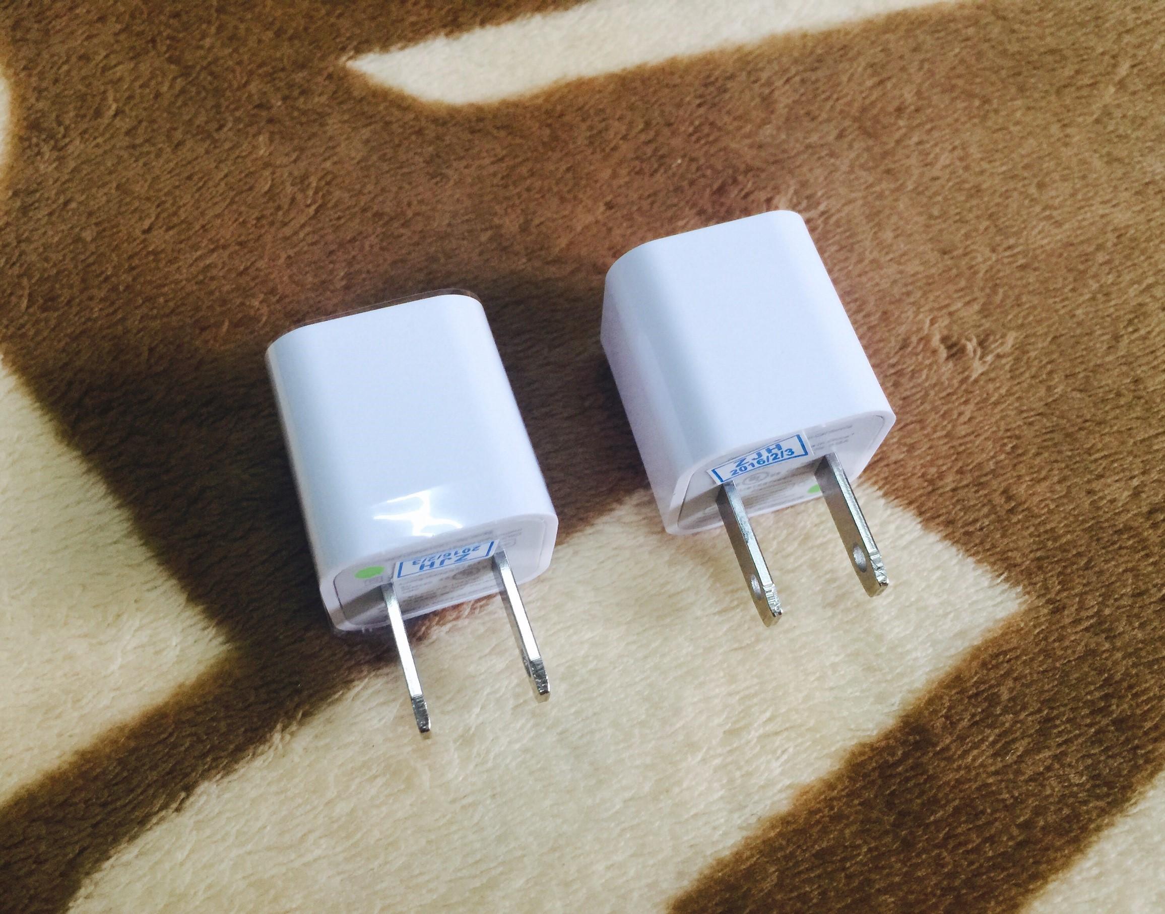 หัวชาร์จ 1000mA (ไฟเต็ม ชาร์จไว) สีขาว