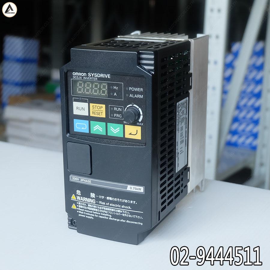 ขาย Inverter Omron รุ่น 3G3JX-A2007