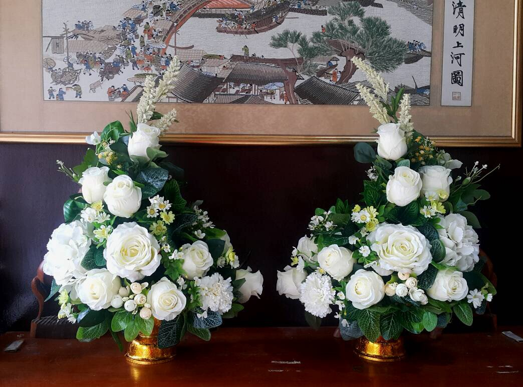Flower-Hanabana พานพุ่มดอกไม้