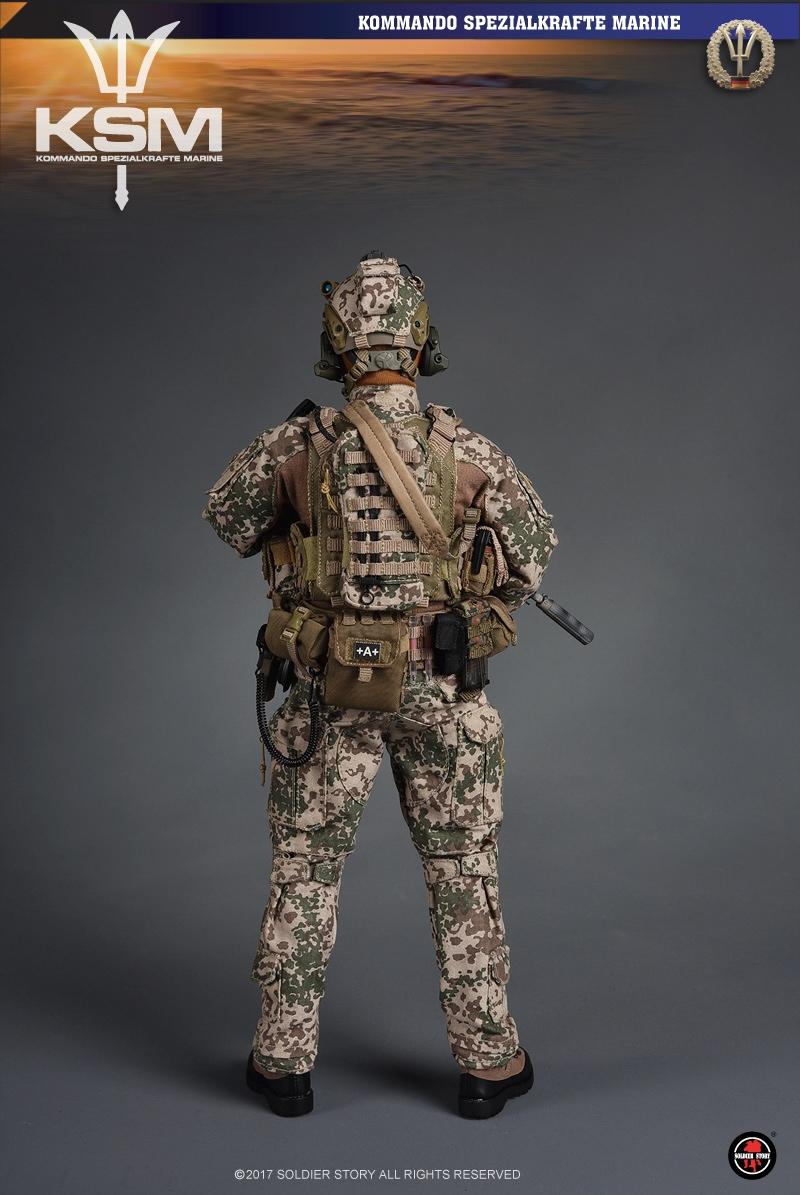 Kommando Spezialkrafte Marine 1//6 Scale Soldier Story Figures Duty Belt