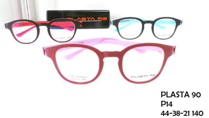 PLASTA P14 โปรโมชั่น กรอบแว่นตาพร้อมเลนส์ HOYA ราคา 2200 บาท