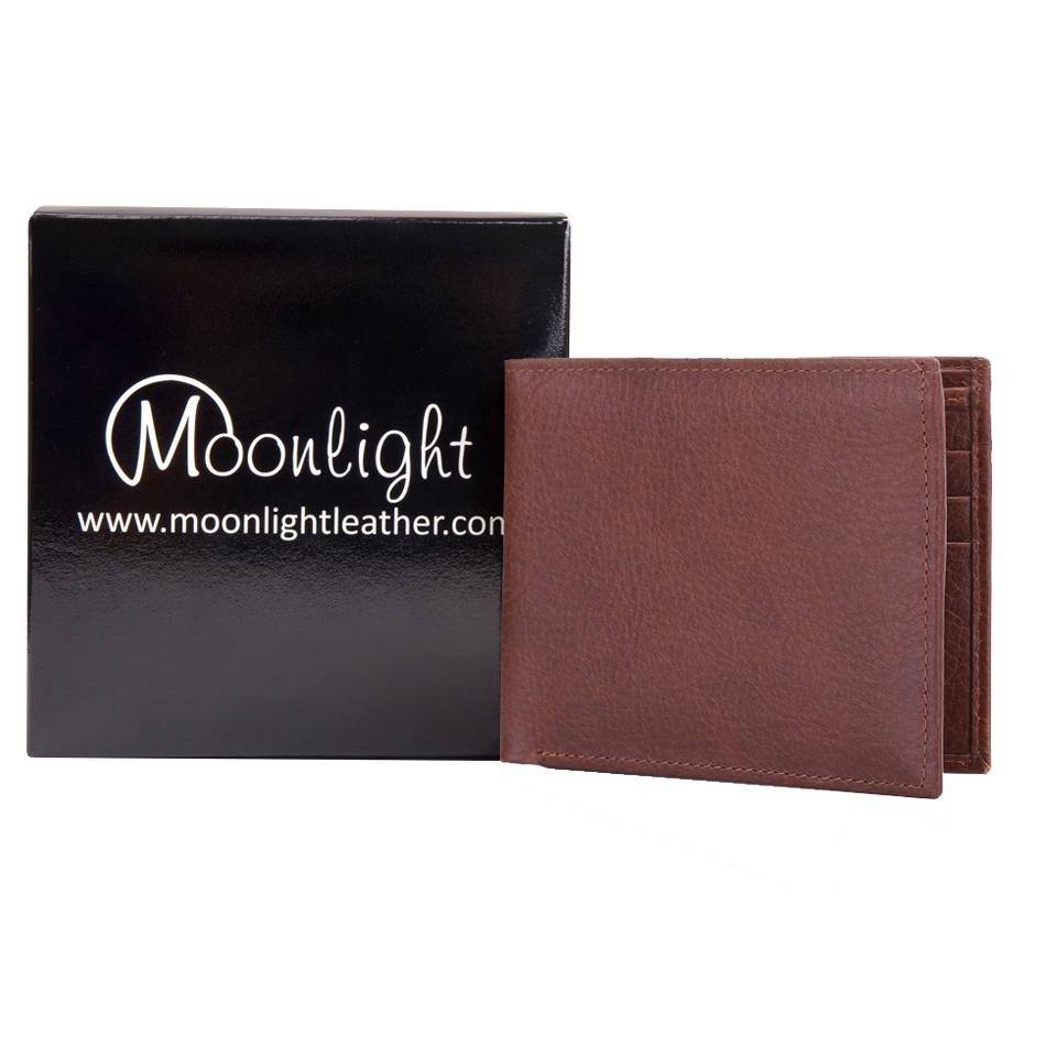 กระเป๋าสตางค์ชาย รุ่น Murphy ลายธรรมชาติสั่งฟอกเฉพาะ Moonlight เบาบาง แต่นุ่มเหนียว ทนทานทุกการใช้งาน