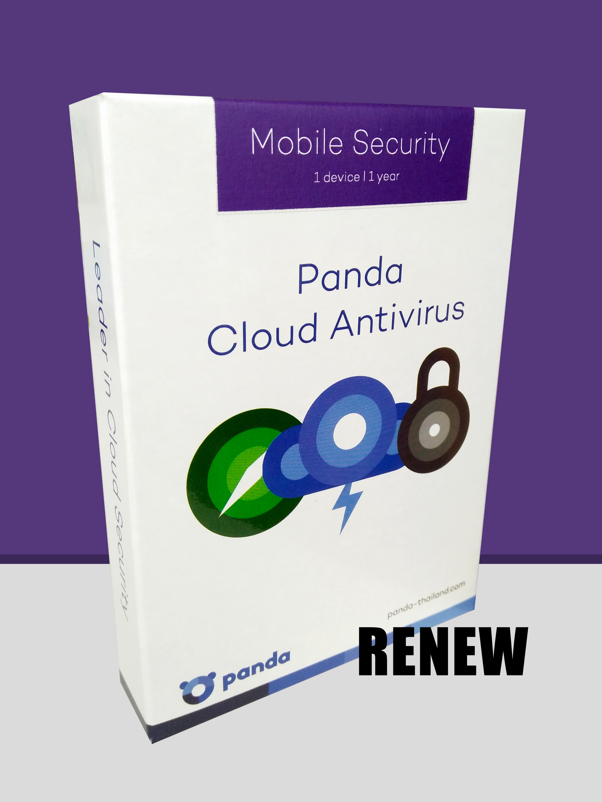 Renew - Panda Mobile Security (Key-code) 1 device