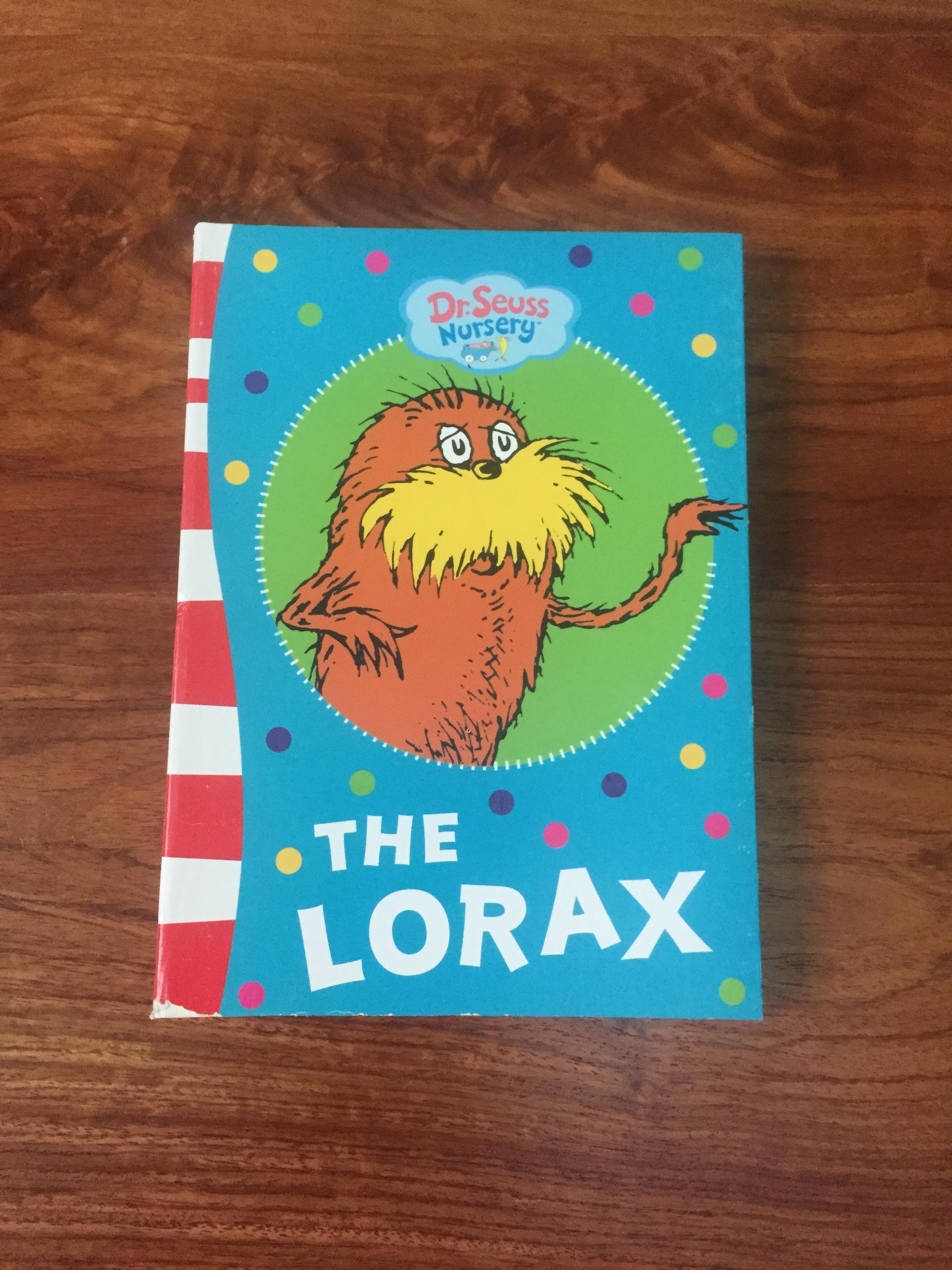 Dr Seuss Nursery The Lorax Moarema