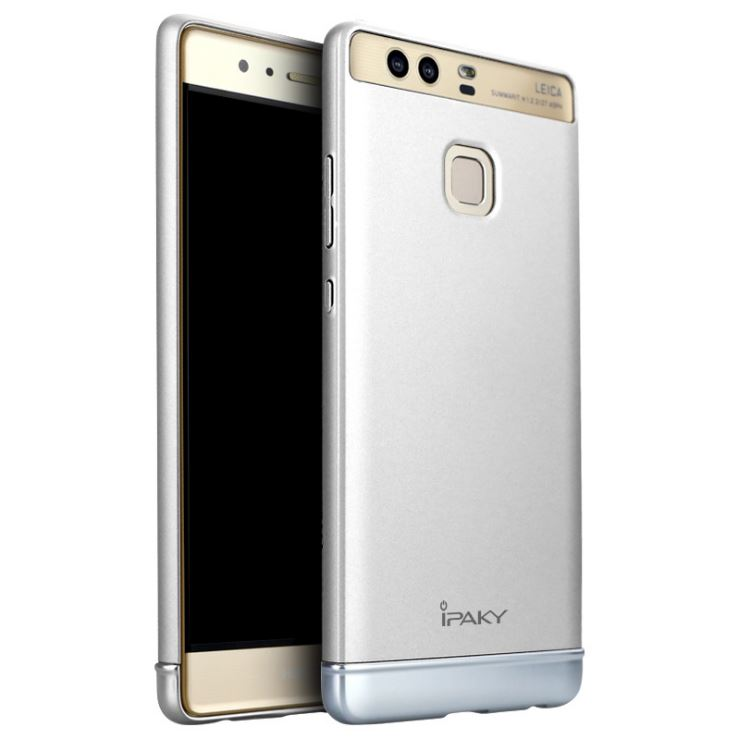 IPAKY Case Huawei P9 (Silver)