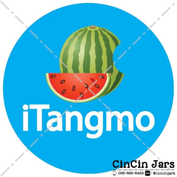 ตัวอย่างงานออกแบบสติ๊กเกอร์ iTangmo