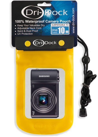Camera Waterproof Pouch Large - สีเหลือง