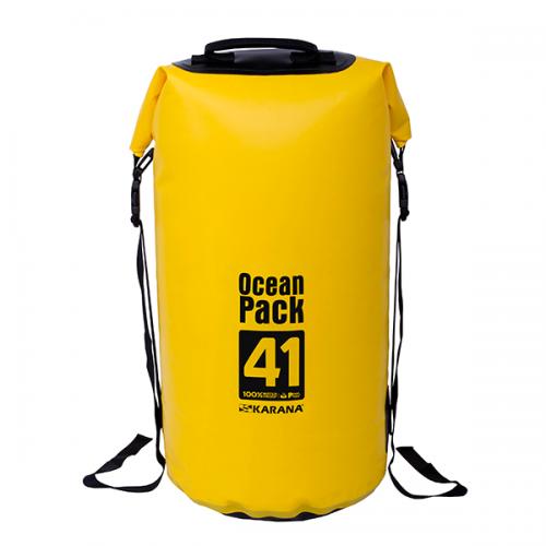 กระเป๋ากันน้ำ Ocean Pack 41L-สีเหลือง