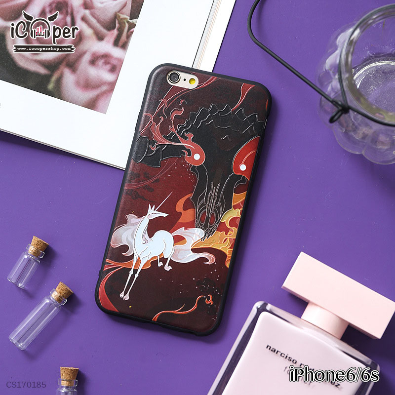 3D Case - White Horse (iPhone6/6s)