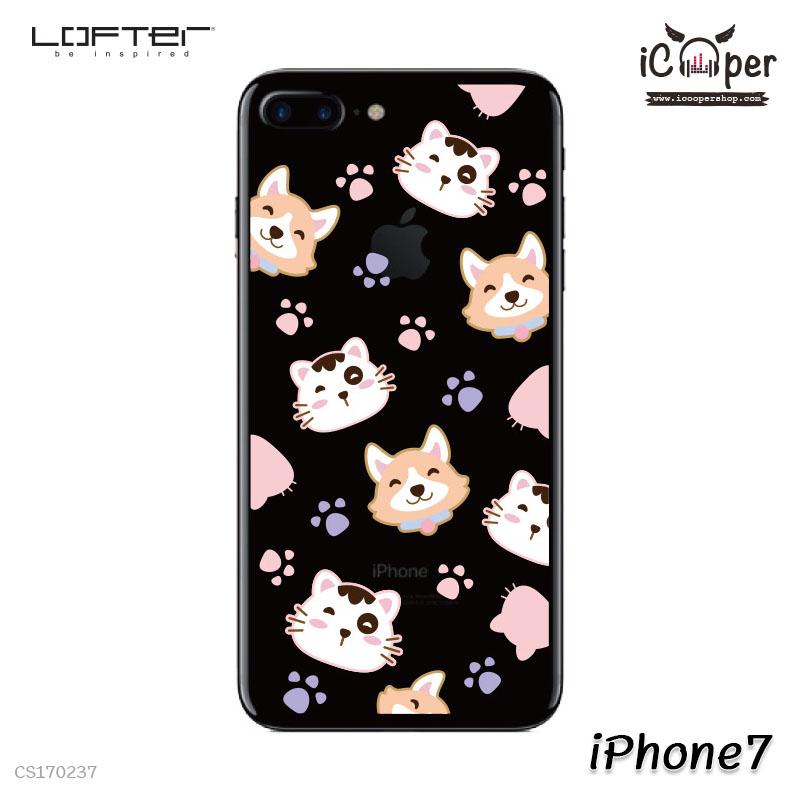 LOFTER Pets TP Case - Cat & Dog (iPhone7)