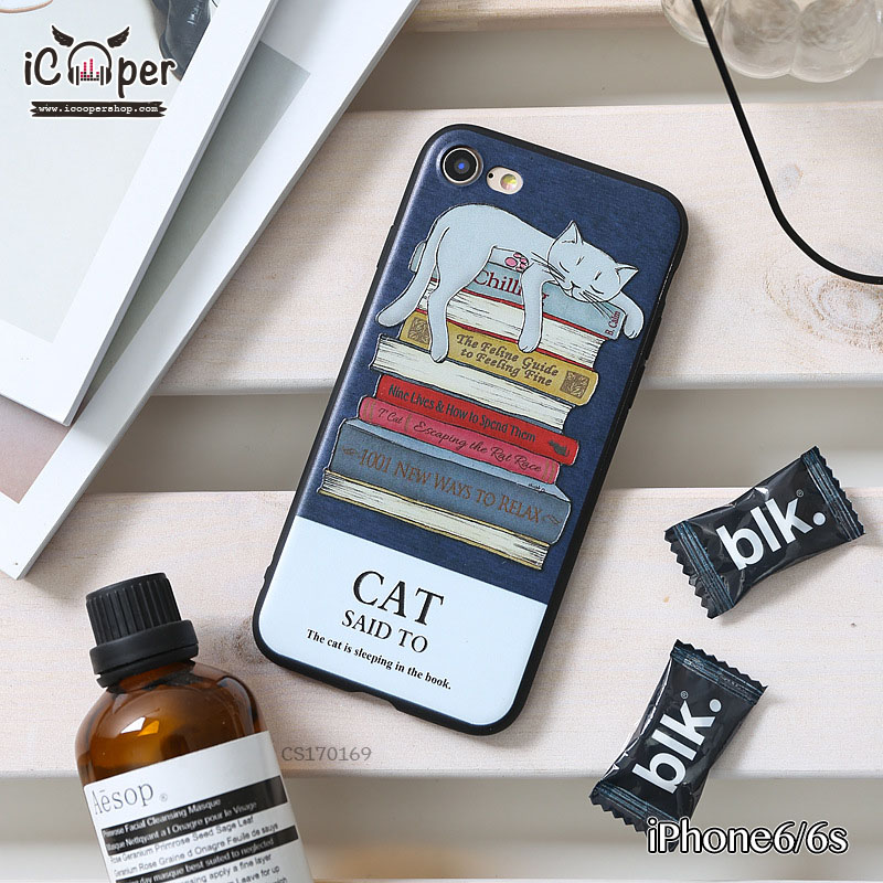3D Case - Sleeping cat (iPhone6/6s)