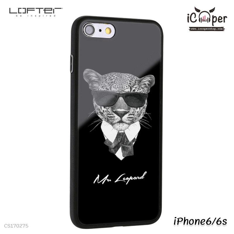 LOFTER Cartoon Mirror - Mr. Leopard (iPhone6/6s)